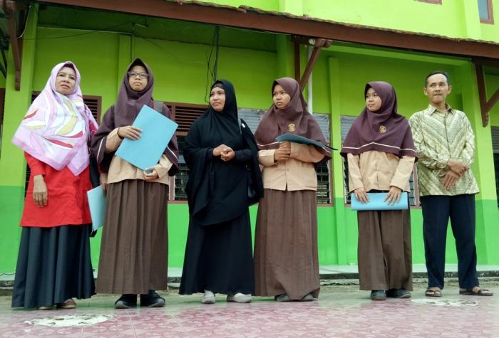 Peraih Peringkat Umum Madrasah Bidang Akademik TP 2017/2018 MAN 2 Kota Jambi Dibacakan